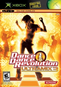 Dance Dance Revolution Ultramix 3 Box Art