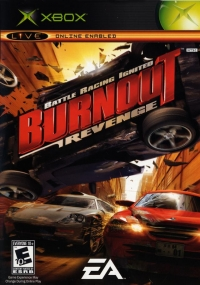 Burnout Revenge Box Art