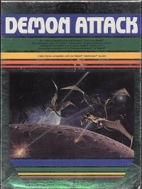 Demon Attack (text label) Box Art