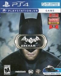 Batman: Arkham VR Box Art