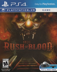 Until Dawn: Rush of Blood Box Art