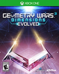 Geometry Wars 3: Dimensions Evolved Box Art