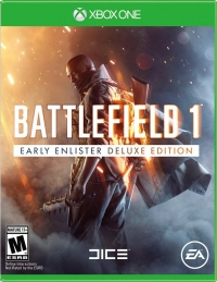 Battlefield 1 - Early Enlister Deluxe Edition Box Art