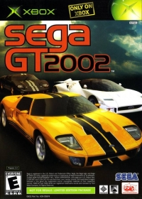 Sega GT 2002 / JSRF: Jet Set Radio Future Box Art