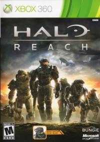 Halo: Reach Box Art