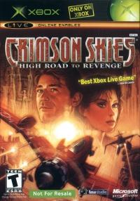 Crimson Skies: High Road to Revenge (Not for Resale) Box Art