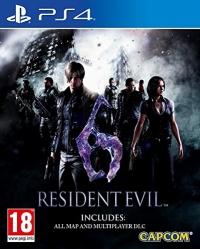 Resident Evil 6 Box Art