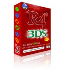 R4i-SDHC 3DS RTS Box Art