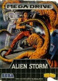Alien Storm Box Art