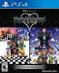 Kingdom Hearts HD 1.5 + 2.5 ReMIX Box Art