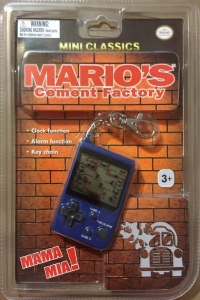 Mario's Cement Factory - Blue (cement truck, Choking Hazard) Box Art