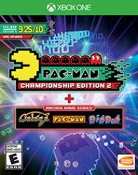 Pac-Man Championship Edition 2 + Arcade Game Series Box Art
