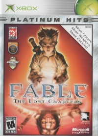 Fable: The Lost Chapters - Platinum Hits Box Art