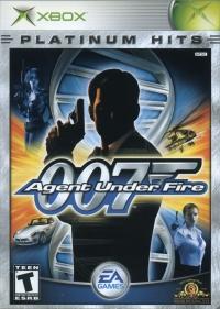 007: Agent Under Fire - Platinum Hits Box Art