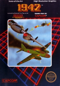 1942 (5 screw cartridge) Box Art