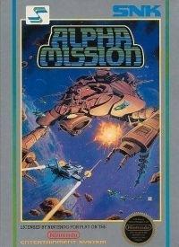 Alpha Mission (5 Screw Cartridge) Box Art