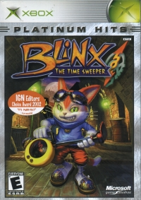 Blinx: The Time Sweeper - Platinum Hits Box Art