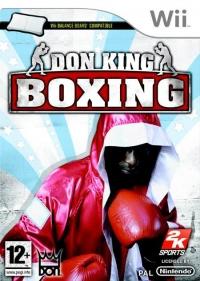 Don King Boxing WII Box Art