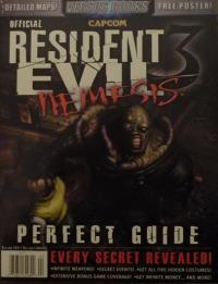 Resident Evil 3: Nemesis - Official Perfect Guide Box Art