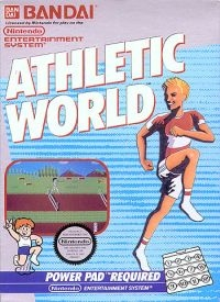 Athletic World (3 screw cartridge) Box Art