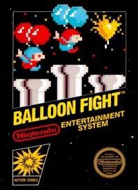 Balloon Fight (5 screw cartridge) Box Art