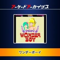 Arcade Archives Wonder Boy Box Art