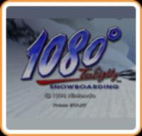 1080° Snowboarding Box Art