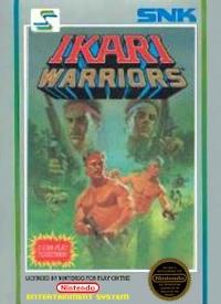 Ikari Warriors (5 screw cartridge) Box Art