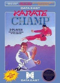 Karate Champ (5 screw cartridge) Box Art