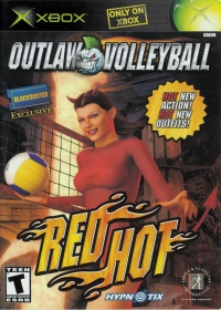 Outlaw Volleyball: Red Hot Box Art