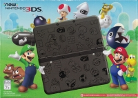 New Nintendo 3DS - Super Mario Black Edition Box Art