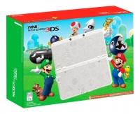 New Nintendo 3DS - Super Mario White Edition Box Art