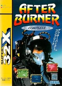 After Burner: Complete Box Art