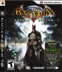 Batman: Arkham Asylum Box Art
