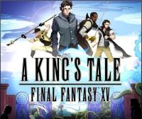 King's Tale, A: Final Fantasy XV Box Art