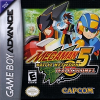 Mega Man Battle Network 5: Team Colonel Box Art