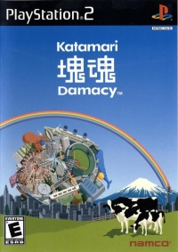 Katamari Damacy Box Art