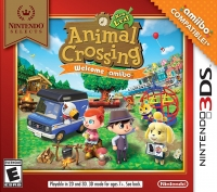 Animal Crossing: New Leaf - Welcome amiibo Box Art