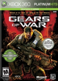 Gears of War - Platinum Hits Box Art