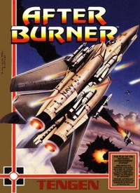 After Burner Box Art