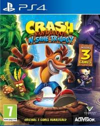 Crash Bandicoot: N. Sane Trilogy Box Art