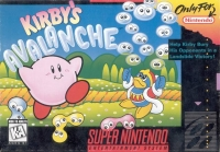 Kirby's Avalanche (K-A Rating) Box Art