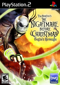 Tim Burton's The Nightmare Before Christmas: Oogie's Revenge Box Art