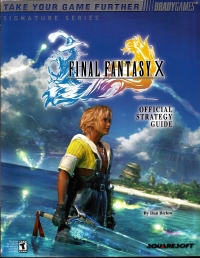 Final Fantasy X - Official Strategy Guide Box Art