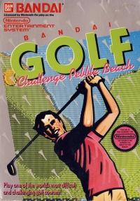 Bandai Golf: Challenge Pebble Beach (round seal) Box Art