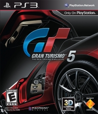 Gran Turismo 5 Box Art