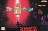 7th Saga, The Box Art