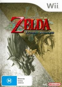 Legend of Zelda, The: Twilight Princess Box Art
