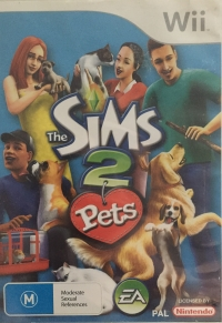 Sims 2, The: Pets Box Art