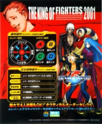 King of Fighters 2001, The Box Art